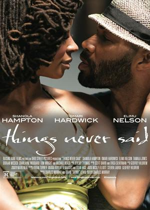 Things Never Said Online DVD Rental