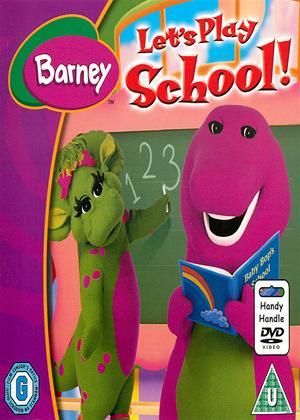 Rent Barney: Let's Play School! Online DVD Rental
