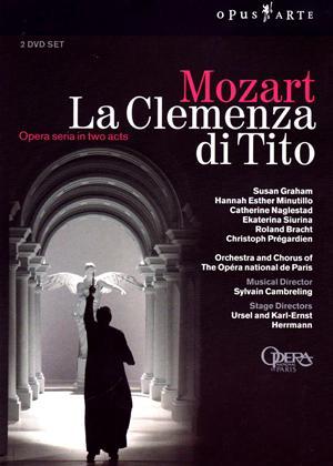 Rent La Clemenza Di Tito: The Opera National De Paris (Cambreling) Online DVD Rental