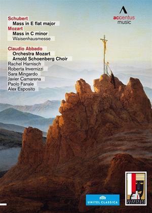 Rent Mozart/Schubert: Mass in C Minor/Mass in E Flat Major (Abbado) Online DVD Rental