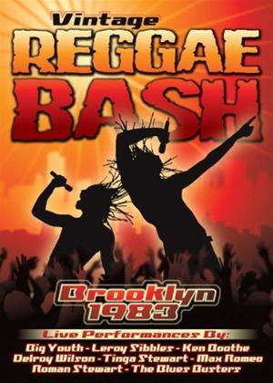 Rent Vintage Reggae Bash: Brooklyn 1983 Online DVD Rental