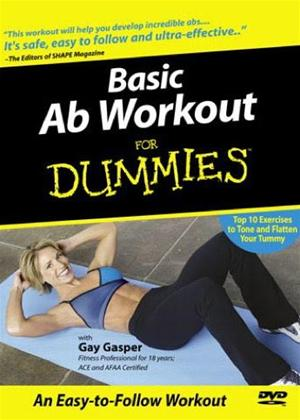 Rent Basic Ab Workout for Dummies Online DVD Rental