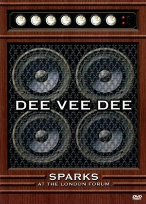 Sparks: Dee Vee Dee: Live in London Online DVD Rental