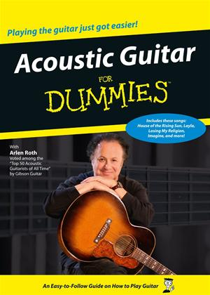 Rent Acoustic Guitar for Dummies Online DVD Rental