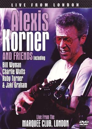 Rent Alexis Korner and Friends: Live from London Online DVD Rental