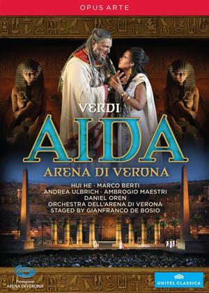 Rent Aida 3D: Arena Di Verona (Oren) Online DVD Rental