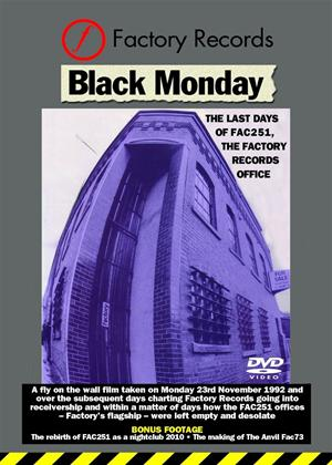 Black Monday: The Last Days of Factory Records Online DVD Rental
