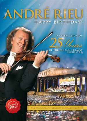 Rent Andre Rieu: A Celebration of 25 Years of the Johann Strauss Orchestra Online DVD Rental
