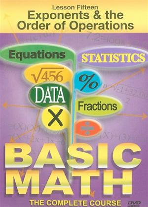 Rent Basic Maths: Exponents and the Order of Operations Online DVD Rental