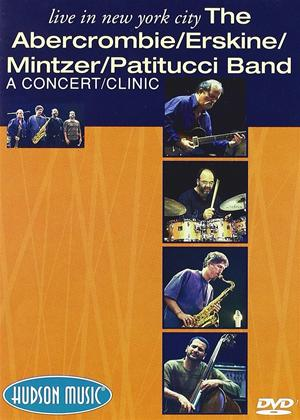 Abercrombie / Erskine / Mintzer / Patitucci Band: Live in New York Online DVD Rental