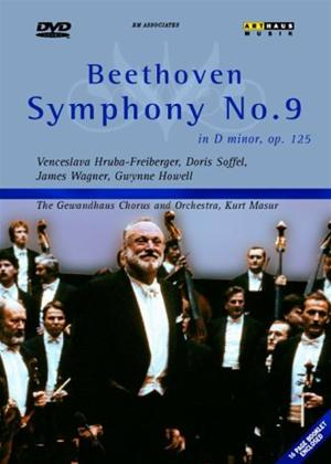 Beethoven: Symphony No. 9: Choral Online DVD Rental