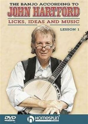 Rent The Banjo According to John Hartford: Licks, Ideas and Music: Lesson 1 Online DVD Rental