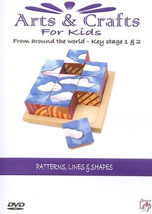 Rent Arts and Crafts for Kids: Patterns, Lines and Shapes Online DVD Rental