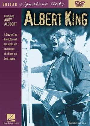 Rent Andy Aledort: Albert King: Guitar Signature Licks Online DVD Rental