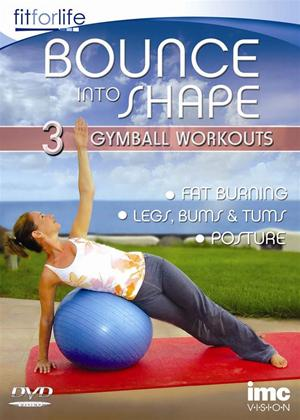 Bounce Into Shape: 3 in 1 Gymball Workout Online DVD Rental