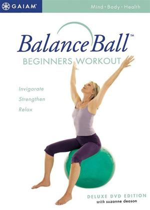 Balance Ball: Beginners Workout Online DVD Rental