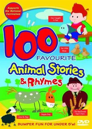 Rent 100 Favourite Animal Stories and Rhymes Online DVD Rental