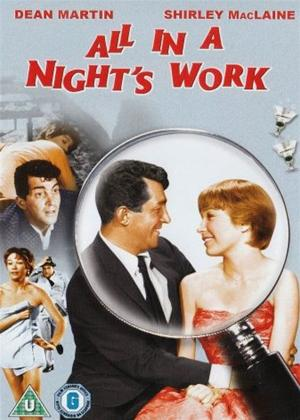 Rent All in a Night's Work Online DVD Rental