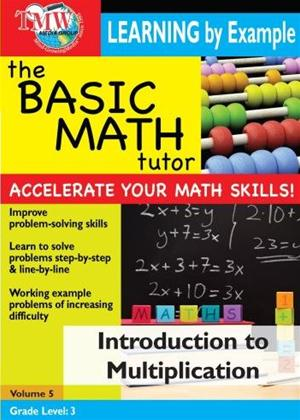 The Basic Math Tutor: Introduction to Multiplication Online DVD Rental