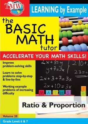 The Basic Math Tutor: Ratio and Proportion Online DVD Rental