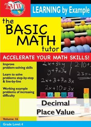 The Basic Math Tutor: Decimal Place Value Online DVD Rental