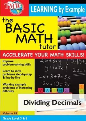 The Basic Math Tutor: Dividing Decimals Online DVD Rental
