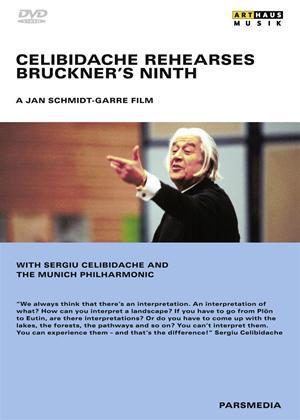 Rent Celibidache Rehearses Bruckner's Ninth Online DVD Rental