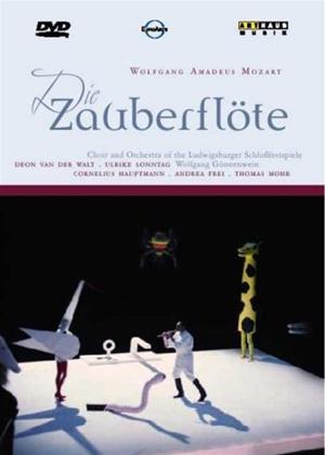 Rent Die Zauberflöte: Ludwigsburger Schlossfestspielen (Gonnenwein) Online DVD Rental