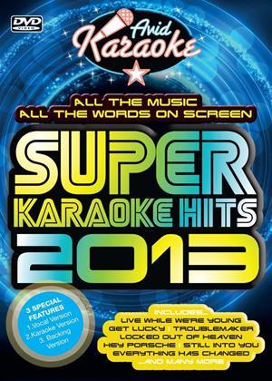 Super Karaoke Hits 2013 Online DVD Rental