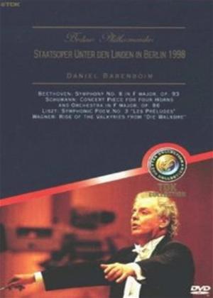 Rent Berlin Philharmoniker: Staatsoper Unter Den Linden Online DVD Rental