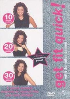 Rent Get Fit Quick with Jennifer James Online DVD Rental