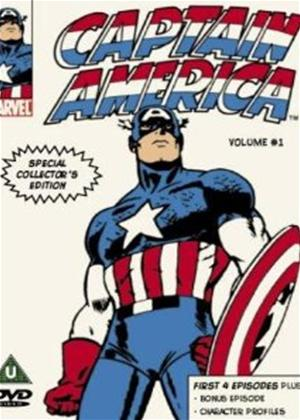 Rent Captain America: The Serial: Vol.1 Online DVD Rental