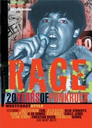 Rent Rage: 20 Years of Punk Rock Online DVD Rental