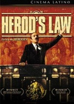 Herod's Law Online DVD Rental