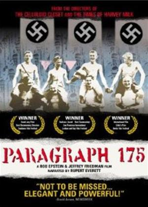 Rent Paragraph 175 Online DVD Rental