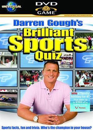 Darren Gough's Brilliant Sports Quiz: Interactive DVD Game Online DVD Rental