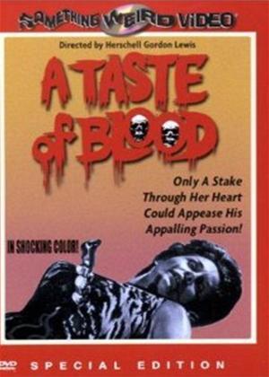 A Taste of Blood Online DVD Rental