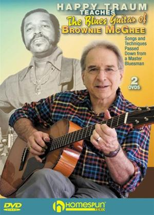 Rent Happy Traum Teaches the Blues Guitar of Brownie McGhee Online DVD Rental