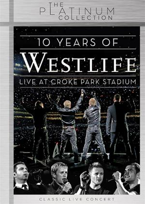 Westlife: 10 Years of Westlife: Live at Croke Park Stadium Online DVD Rental