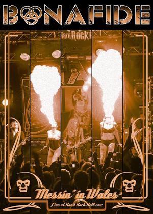 Bonafide: Messin' in Wales: Live at Hard Rock Hell Online DVD Rental