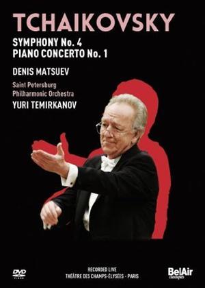 Rent Tchaikovsky: Symphony No. 4, Piano Concerto No. 1 Online DVD Rental