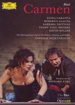 Rent Carmen: The Metropolitan Opera (Nézet-Séguin) Online DVD Rental