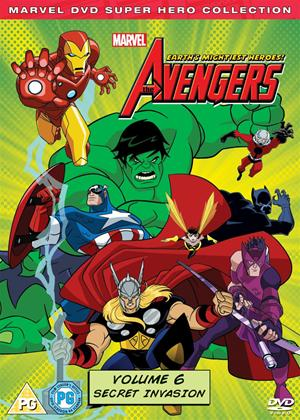 Rent The Avengers: Earth's Mightiest Heroes: Vol.6 Online DVD Rental