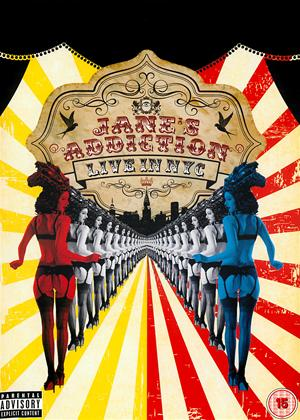 Jane's Addiction: Live in NYC Online DVD Rental