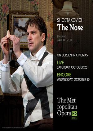 The Nose: Metropolitan Opera (Smelkov) Online DVD Rental