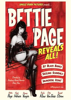 Bettie Page Reveals All Online DVD Rental
