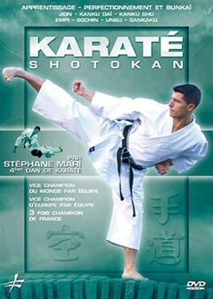 Rent Shotokan Karate: Teaching Improving and Bunkai with Stéphane Mari Online DVD Rental
