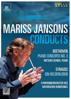 Rent Beethoven/Strauss: Piano Concerto No. 3/Ein Heldenleben (Jansons) Online DVD Rental