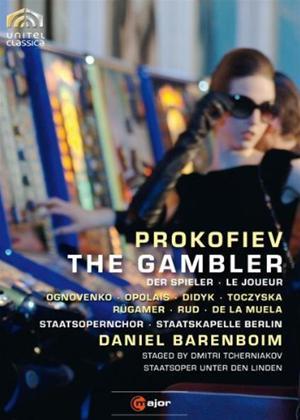 Rent The Gambler: Staatskapelle Berlin Online DVD Rental