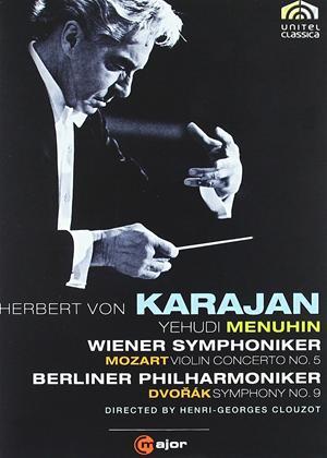 Rent Karajan: Mozart Violin Concerto No.5 / Dvorak Symphony No.9 Online DVD Rental